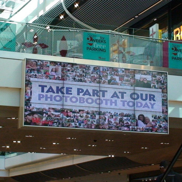 Westfield Stratford City installs largest LCD video wall in Europe