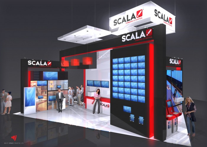 Scala to showcase a new user interface for Content Manager and new functionalities including HTML5 content playback and Android device support at ISE 2013.