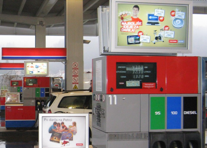 Slovenian petrol chain drives digital signage with Scala – Digital Signage Today