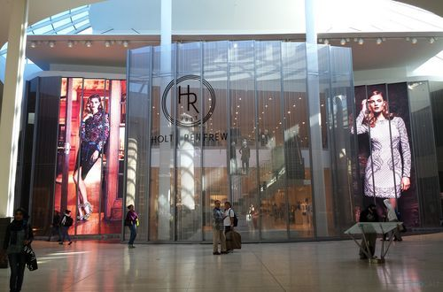 Holt Renfrew Video Walls Aim High – Sign Media Canada
