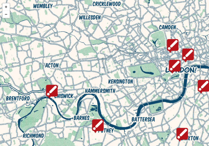 Around London In Seven Days with Scala