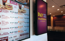 Driving Digital Signage With Distinct Content at Wendy's Global Locations