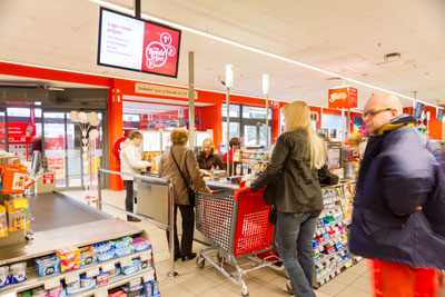 'Fresh' in-store communication at Carrefour Belgium