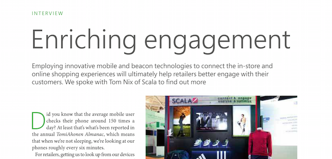 Tom Nix Talks Mobile, Beacon Technologies in Retail with OnWindows Magazine