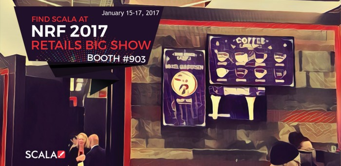 NRF 2017 Retail's Big Show – January 15-17, 2017<br>Booth #903