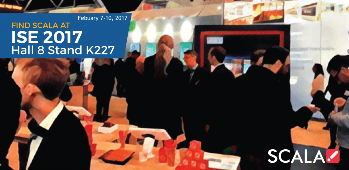 ISE 2017 February 7-10, 2017<br>Hall 8 Stand K227