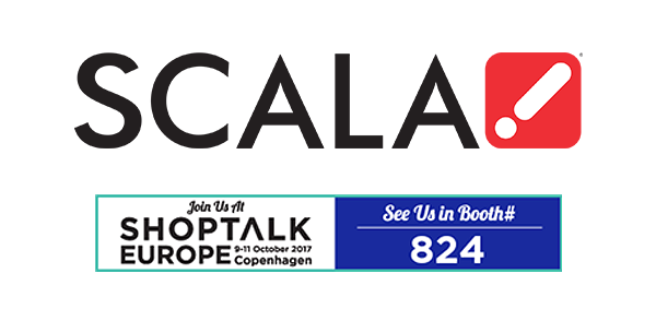Scala to Display Smarter Signage Solutions for In-store Engagement at ShopTalk Europe