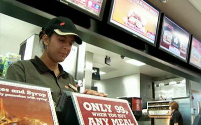 VIDEO: Digital Menu Boards – Burger King