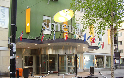 Northern Sweden's largest shopping mall