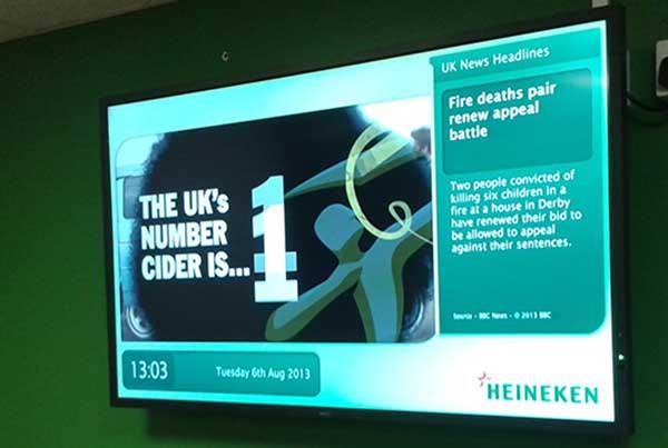 Effective Digital Corporate Communication at Heineken