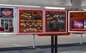 Krystal Restaurant Digital Signage