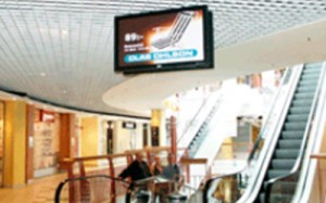 mall digital display