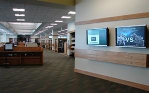 Utah Valley University Library Digital Display