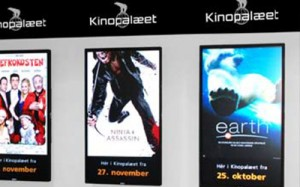 Nordic Film Movie Theater digital poster