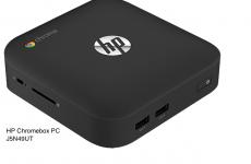 HP Chromebox PC J5N49UT