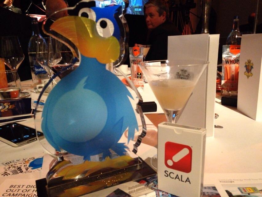Scala代理店が2015年度のDailyDOOH Gala アワードで最高の栄誉を受賞