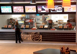 Burger King Digital Signage