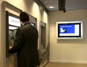 Rabobank financial digital signage