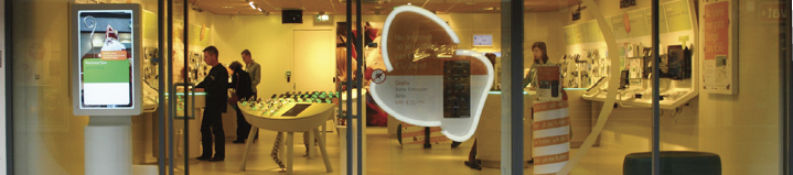 After the revitalization of KPN's retail stores in 2009, the customers' perception of the stores has clearly changed.