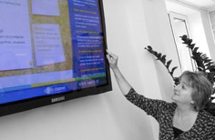 Staff training at Direction's Bournemouth digital signage suite backed this up.