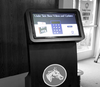 Fasig-Tipton selected Hammond Communications Group to design and implement the mobile digital signage network.
