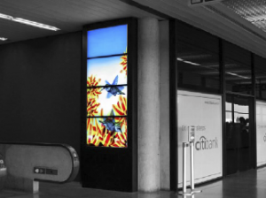 These areas, which are situated in the airport's departure lounges, feature two screens with Airport TV, as well as laptop ports and telephone services.