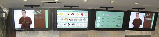 IDS Menus, a Scala Certified Partner, has deployed a Digital Menu Board display system at Berry Chill, a new Yogurt Bar in Chicago, Illinois.