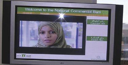 Communication and Corporate image were NCB's main objectives