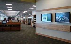Utah Valley University Library Digital Display