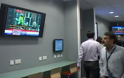 VIDEO: Ericsson Digital Signage