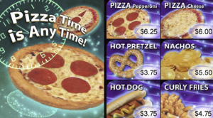 With dynamic digital menu boards, driven by the local POS system, Muvico can dynamically update their product offerings based upon the available product inventory levels and promotional strategies.