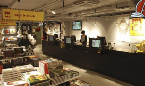 Akademibokhandeln (Academy Bookstore) is Sweden's largest bookstore chain. With 700 employees across 62 stores across Sweden, Akademibokhandeln commands 30% of the bookstore market in Sweden.