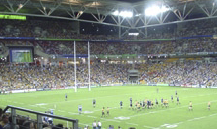 The final alone attracted the largest ever Rugby World Cup crowd of 82, 957 at Sydney's Olympic Stadium. Most if not all of these Rugby fans would have seen Scala InfoChannel in action at every game and in every stadium.