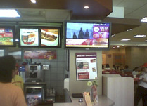 The McDonalds project in Philippines was undertaken by Globaltronics with technical and professional consultancy support provided by Click Grafix Sdn Bhd, the Scala Certified distributor and system integrator in the region.