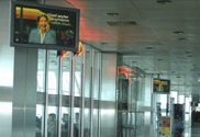 The digital advertising and communication platform installed at the International terminals of Atatürk Airport creates a distinctive advertising media enabling the airport's visitors to receive innovative and dynamic branded communications.