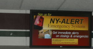 This digital signage network delivers important information to students and faculty in a timely fashion while also functioning as an emergency notification system. Scala Certified Partner Imperatives Inc. implemented the solution.