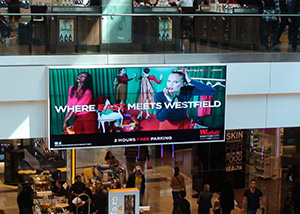 Westfield Shopping Mall Video Wall Digital Signage