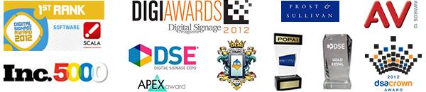 digital signage awards