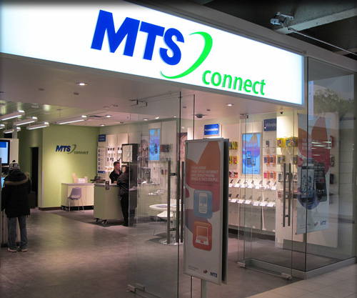 MTS Connects with New Digital Posters – Sign Media Canada