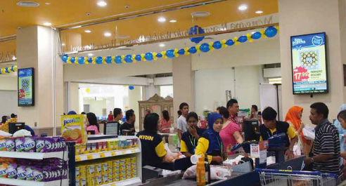 Mydin Deploys Scala Digital Signage – Systems Integration Asia