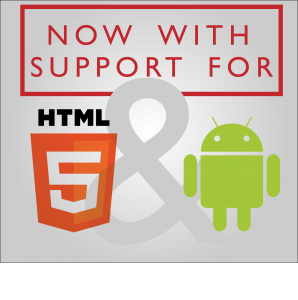 digital signage software supports html5 and android