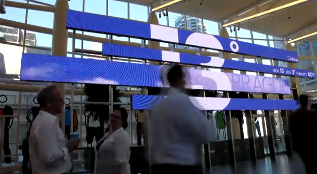 Bloomberg Corporate Communication Digital Signage