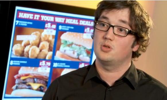 Digital Menu Boards – Burger King