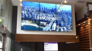 tourism bureau digital video wall