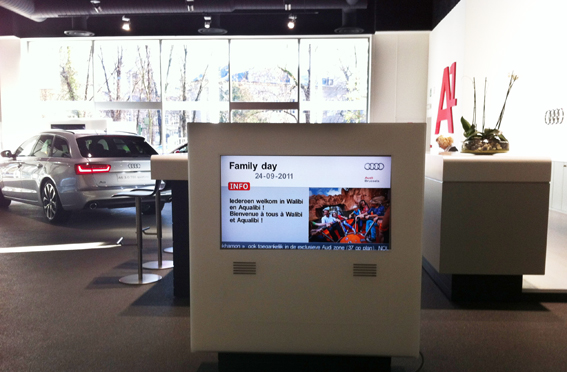 Digital Communication enhancing Audi Factory Tour visits