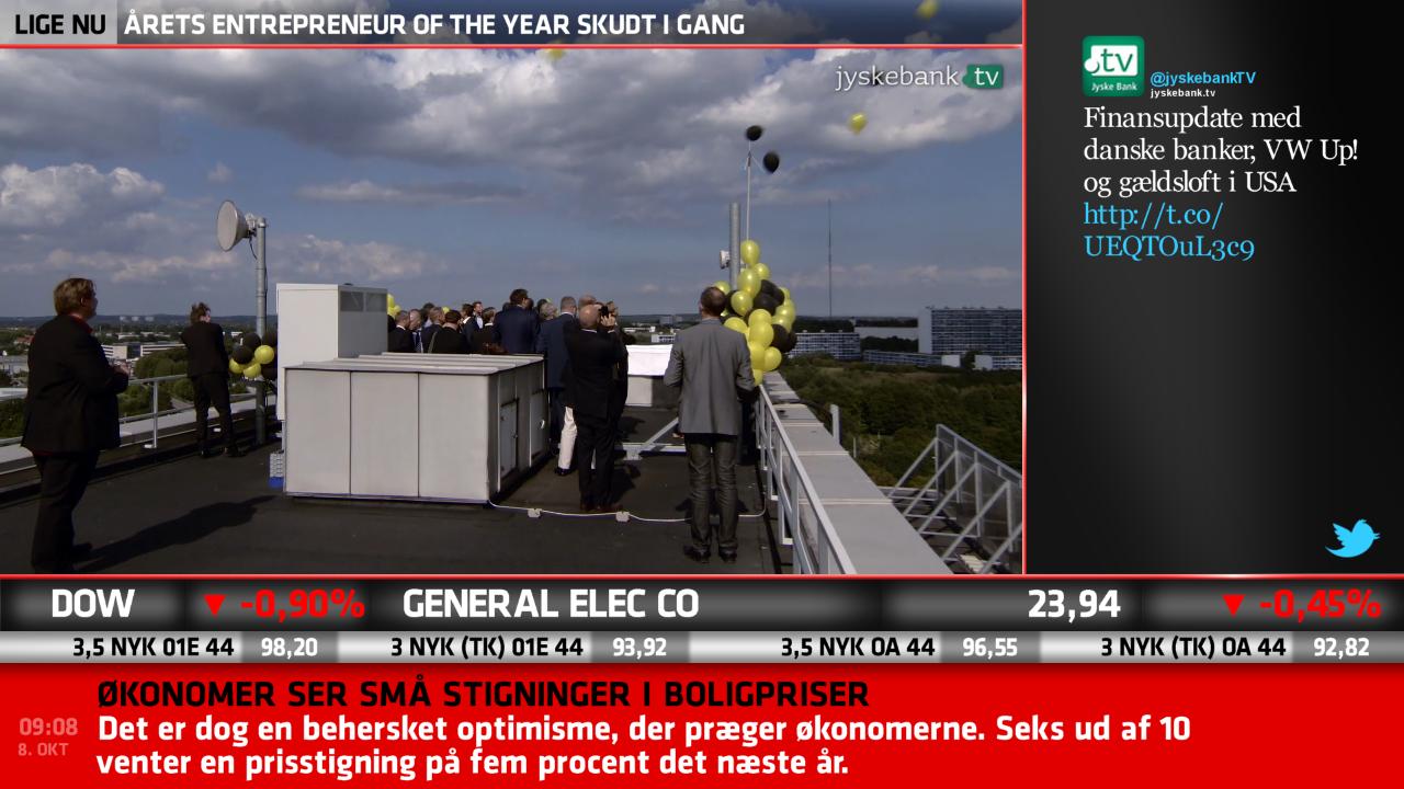 Jyskebank.tv wins DSA award