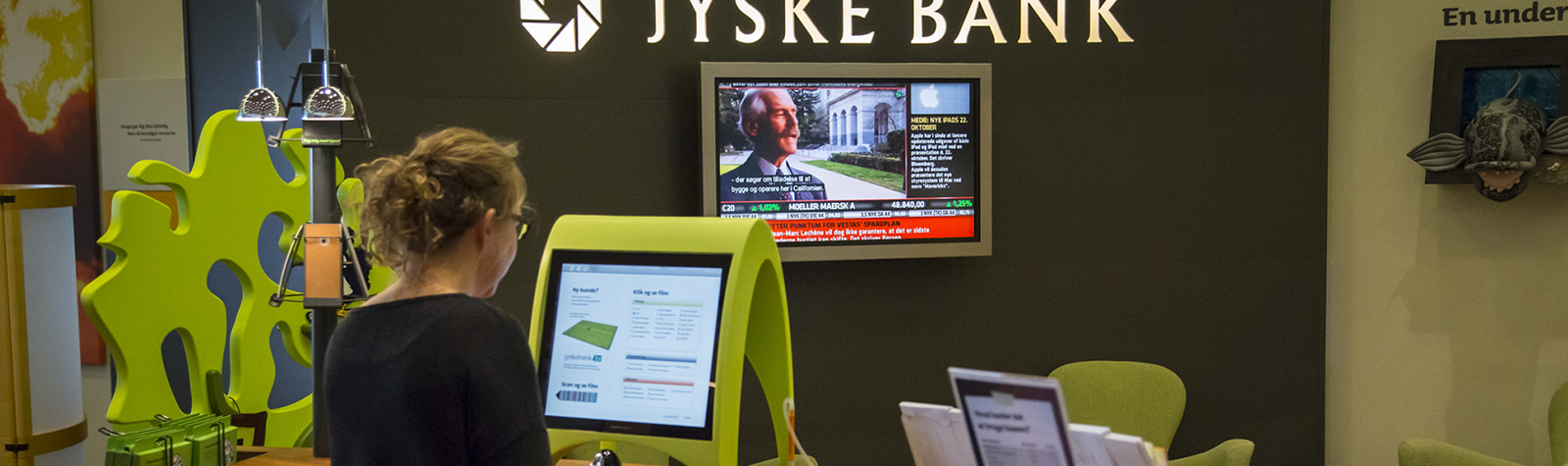 Supporting live TV at Jyske Bank