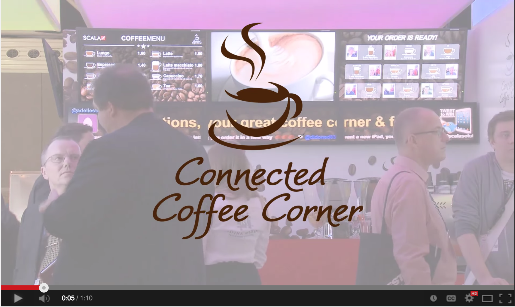 Connected Coffee Corner