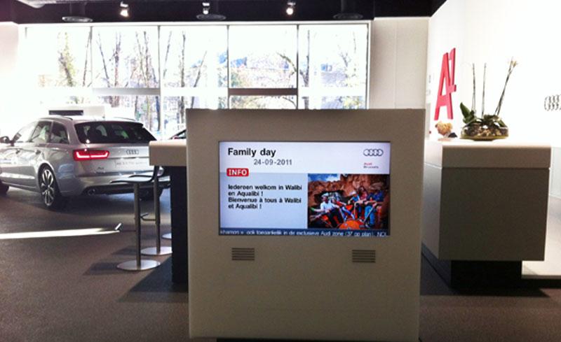 Automotive Industry Use Scala Digital Signage Software